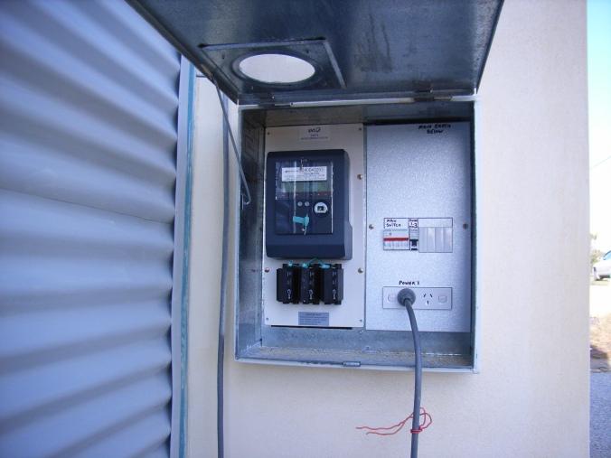 The meter box